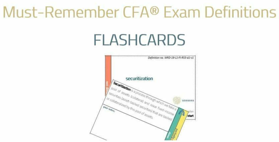 CFA Exam Definitions on Analyst Guide