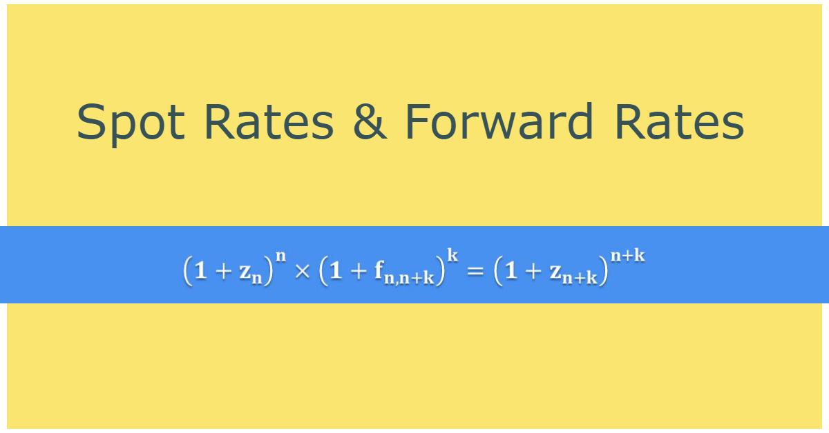 CFA level 1: Spot Rate & Forward Rate
