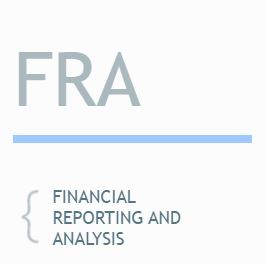 LEVEL 1 TOPICS: Financial and Reporting Analysis