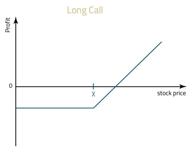 Long Call Option Profit